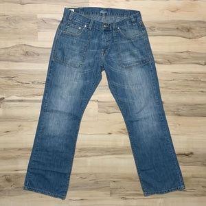 Lacoste Men's Denim Jeans 100% Cotton VTG